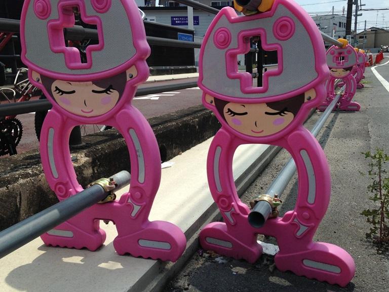 01 Cute - Traffic Bollards